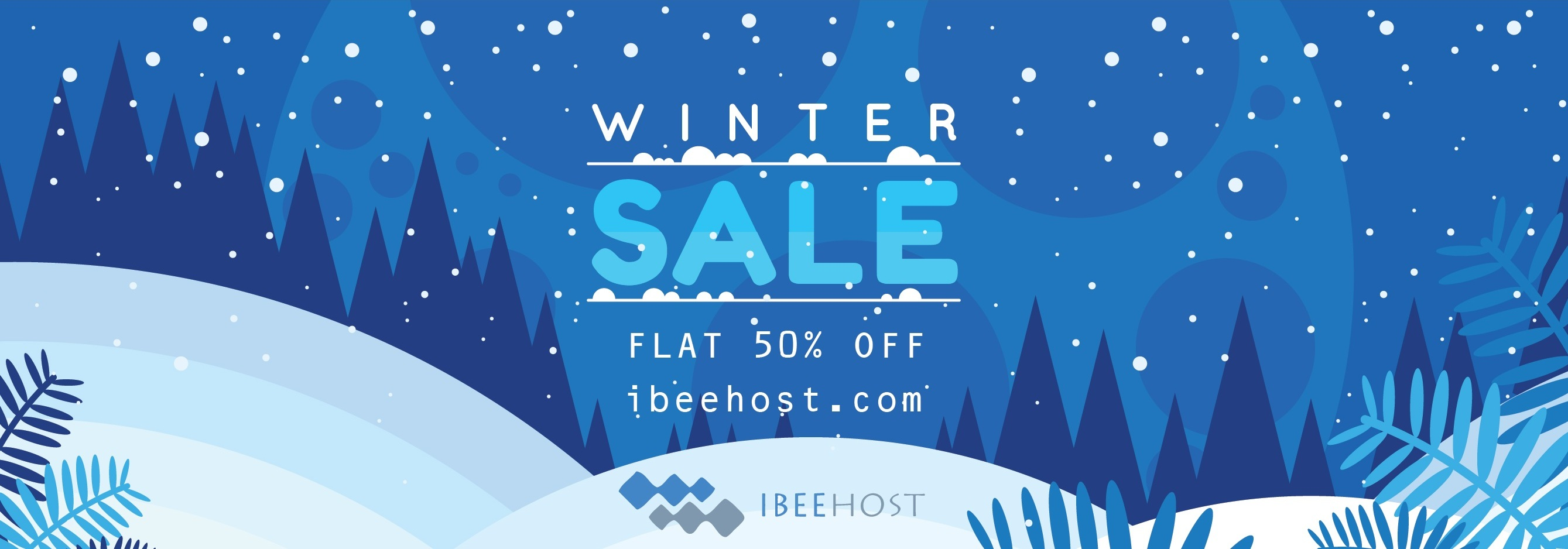 Winter Sale, Flat 50% OFF
